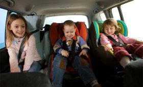Детские автомобильные кресла от BMW