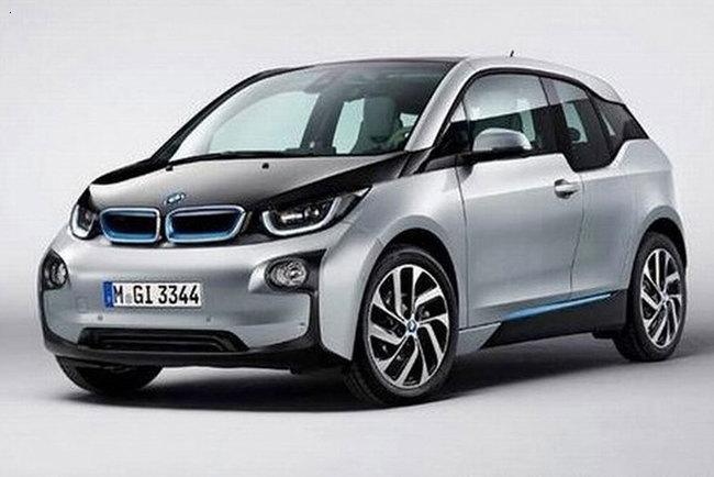 Фотографии нового автомобиля BMW i3 были представлены пользователям интернета