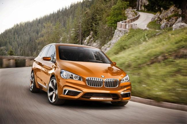 Новый концепт от BMW Active Tourer Outdoor