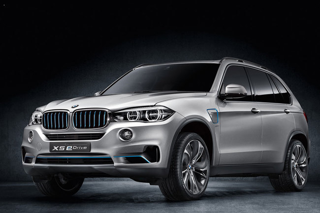 Информация про гибрид BMW X5