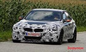 BMW M3 NEW оказался за пределами тестового трека