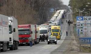 На въезде в Москву будет запрещена стоянка для грузовиков