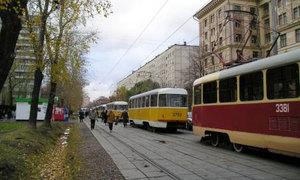 Трамвайные пути будут защищать