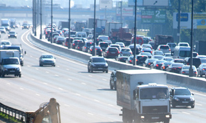 Повышения штрафов для грузовиков на МКАД не будет
