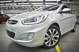 Hyundai Solaris получил обновления