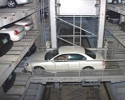На механических парковках можно будет бронировать места