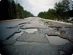 Большая часть российских дорог не отвечает нормам
