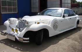 Прокат автомобиля для свадьбы