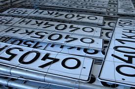 В автомобильных номерах могут появиться чипы