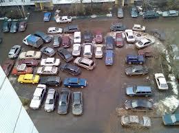 В новых дворах не будет парковок