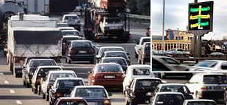 Пробки будут влиять на стоимость платных парковок