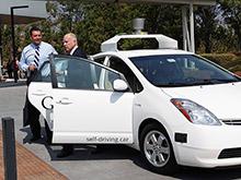 В калифорнии одобрены беспилотные автомобили