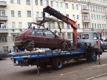 В Москве будут снова эвакуировать автомобили