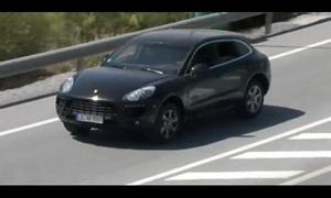 Porsche Macan показал свой внешний вид