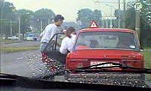 Начинающие водители чаще стали попадать в аварии