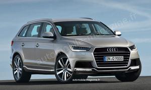 Новый семейный внедорожник Audi появится через пять лет