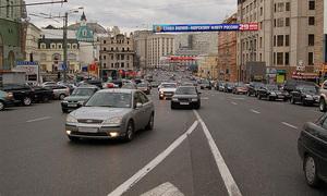 Планируется увеличение дорожных знаков на асфальте