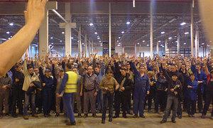 На российском заводе Ford будет забастовка