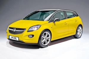 Новый Opel Corsa приобретает очертания