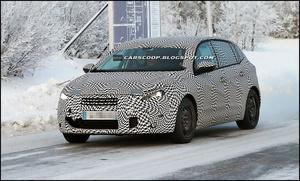 Журналисты сфотографировали новый Peugeot 308