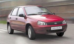 Сокращается производство Lada Kalina
