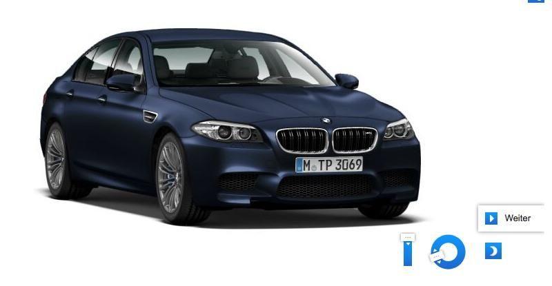 Фотографии нового BMW M5