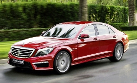 Новый заряженный Mercedes-Benz S 65 AMG (W222) представят в Детройте в 2014 году