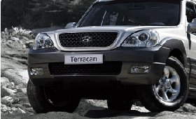 Обзор Hyundai Terracan 3.5 V6
